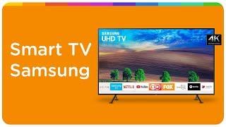 """Smart TV LED 49"""" Samsung 4K NU7100"""