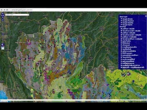เปิดแผนที่สมบัติใต้แผ่นดินไทย ตอนที่ 061 ทำความรู้จักกับแผนที่ธรณีวิทยาจังหวัดน่าน