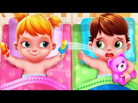 Fun Care Kids Game - Baby Twins Babysitter - Play Fun Dress Up, Feed, Bath Time Games For Kids
