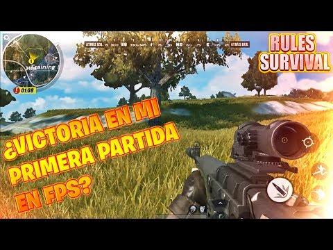 MI PRIMERA PARTIDA EN PRIMERA PERSONA!!! | RULES OF SURVIVAL