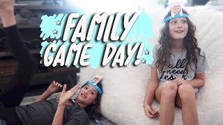 Family Game Day! (WK 398.3) | Bratayley