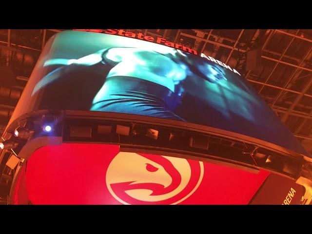 Atlanta Hawks Starting Lineup Introductions — 3/10/19
