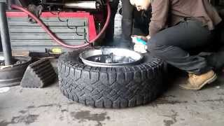 tire stretch gone wrong part 2