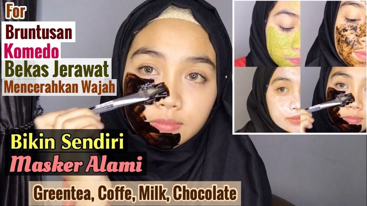 Diy Masker Alami Ampuh Untuk Jerawat Komedo Bekas Jerawat Wajah Kusam Youtube
