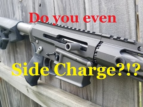 Side Charging AR-15 Tungsten