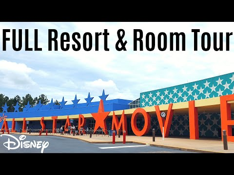 Disney's All Star Movies Full Resort And Room Tour