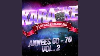 A Coup De Nuits — Karaoké Avec Chant Témoin — Rendu Célèbre Par Alain Barrière