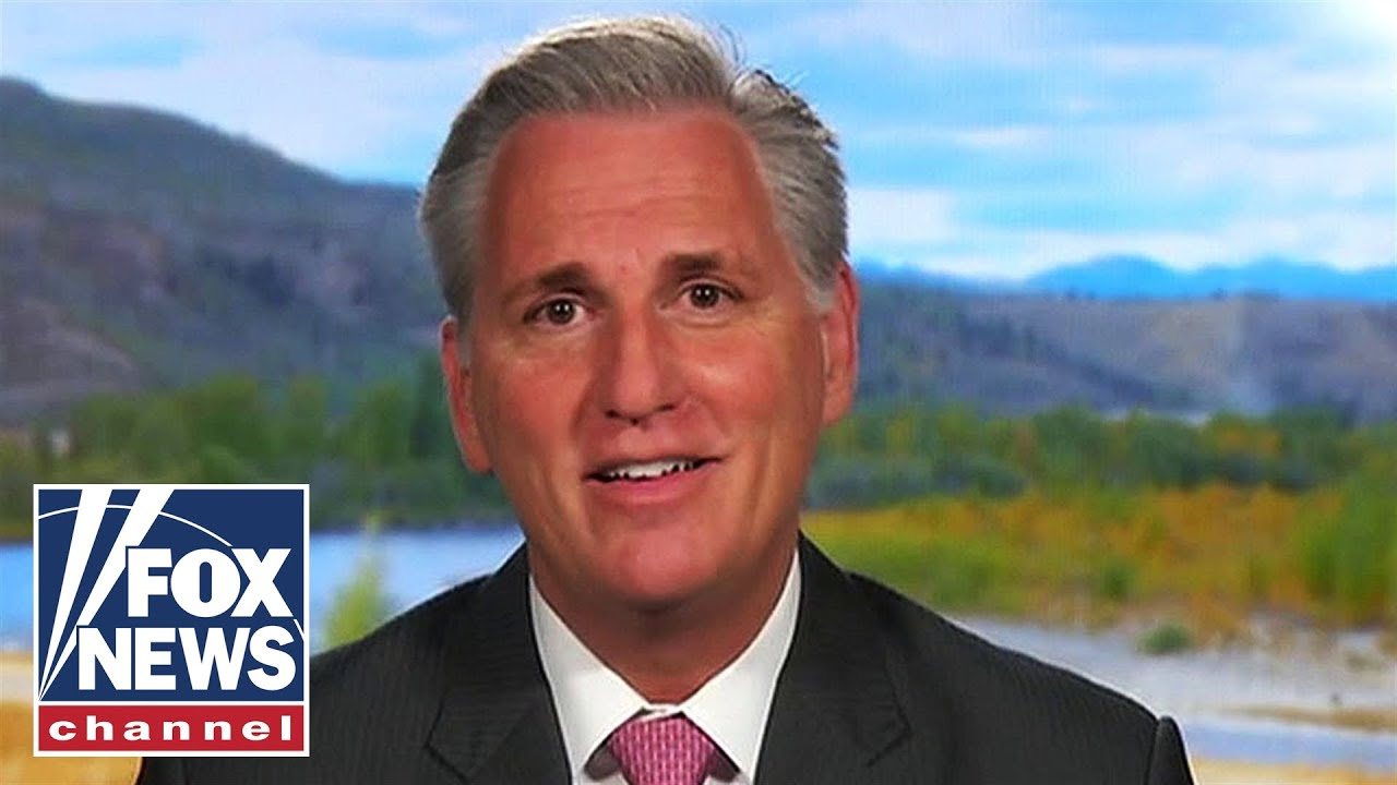 Rep McCarthy rattles off how many times Pelosi has 'held up' coronavirus relief