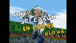 [EN] Hype - the Time Quest: Any% Speedrun in 1:59:51 (old WR)