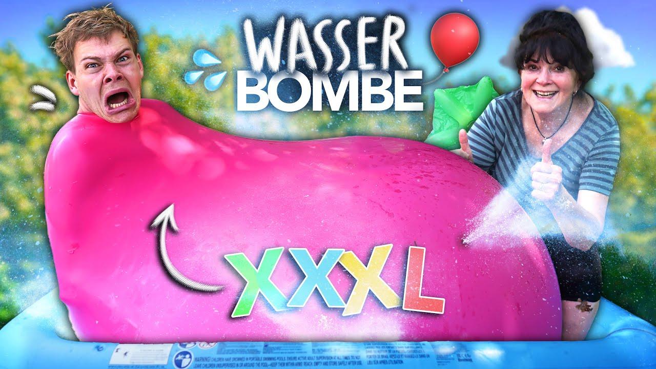 ICH WERDE ZUR GRÖßTEN WASSER-BOMBE DER WELT | Joey's Jungle