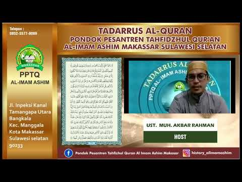 TADARRUS JUZ 11-13 PPTQ. AL IMAM ASHIM MAKASSAR