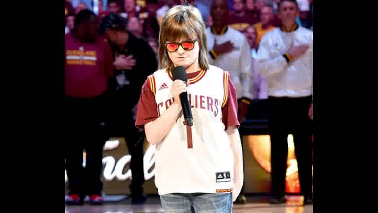 Blind Teen Marlana VanHoose Sings Incredible Version of National Anthem Before Game 6 of NBA ...