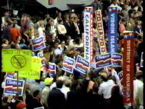 1992 Democratic Convention Night 3 (Part 1 of 4)