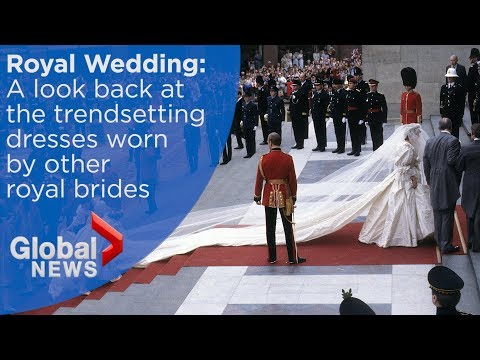 A history of royal wedding dresses and their trendsetting styles