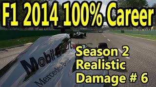 F1 2014 Gameplay PC : 100% Race Monaco 1080p HD F1 Game Career Mode Season 2.