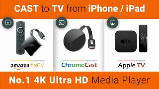 Play from iPhone/iPad to Apple TV , Chromecast ,Fire TV Stick |  Free Play to Apple TV