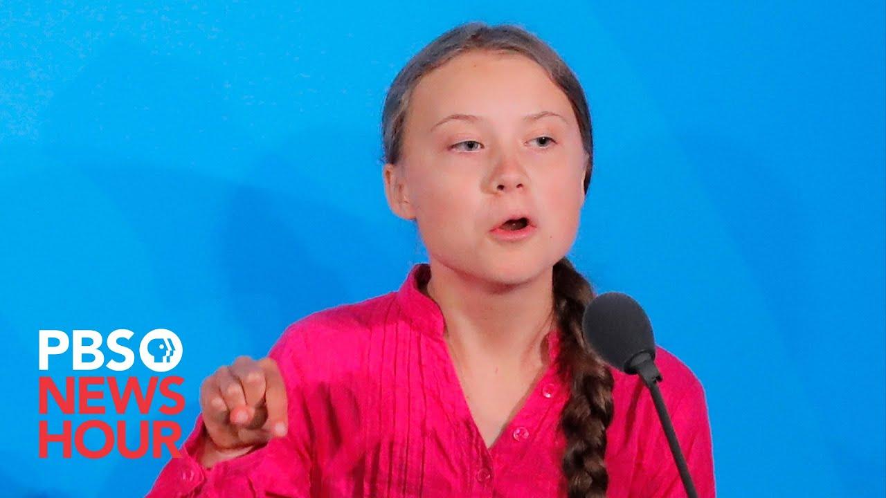 Watch Greta Thunberg S Full Speech To World Leaders At Un
