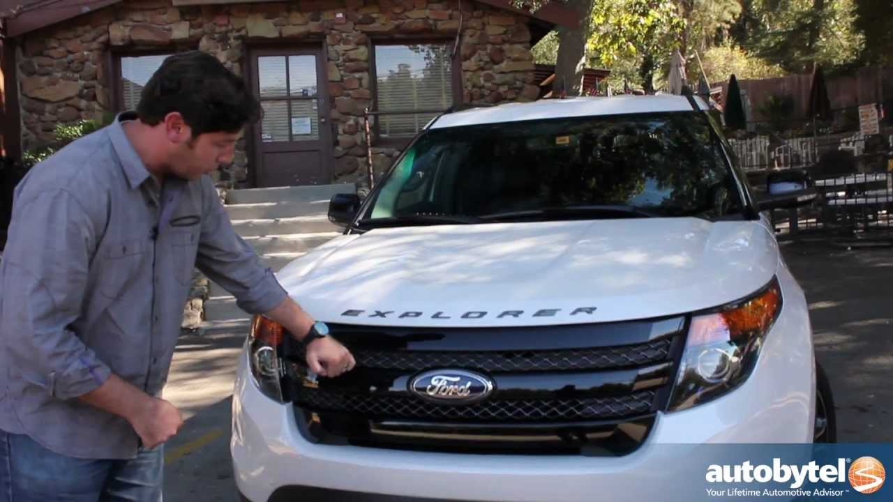 Ford Explorer Off Road >> 2013 Ford Explorer Sport EcoBoost 4x4 Test Drive & Crossover SUV Video Review - YouTube