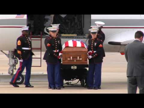 Marine Cpl. Jonathan Porto is Escorted Back Home-Pt.1