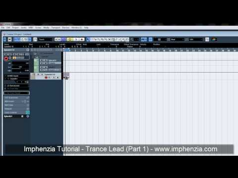 Cubase Trance Lead Tutorial (Sylenth1) Part 1 by Imphenzia