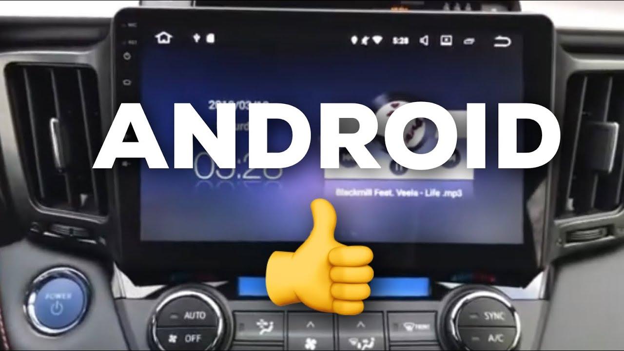 Android Head Unit 2018 Toyota Rav4 Hybrid