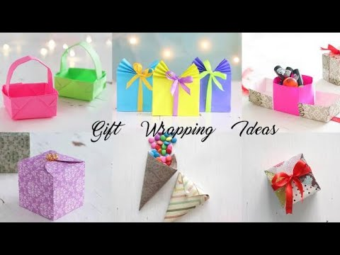 6 DIY Gift Wrapping Ideas | Paper Craft | Ventunoart