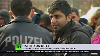 Nazi symbols & anti-immigrant texts: Frankfurt officers investigated over far-right extremism