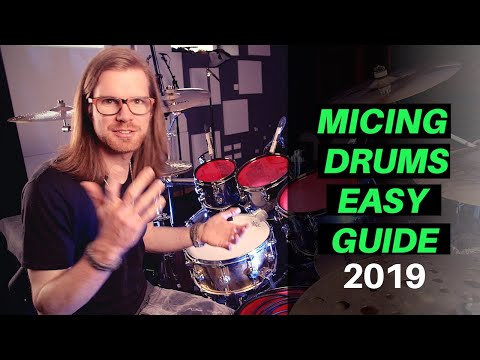 How To Get A Punchy Drum Sound - (Best Microphones And Placements For Drums Tutorial)
