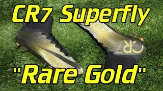 "Nike CR7 Mercurial Superfly 4 ""Rare Gold"" (Ballon d"