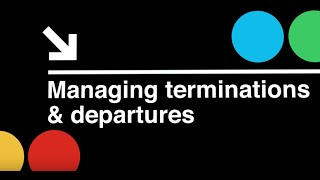 Startup CEO:  Managing Terminations and Departures