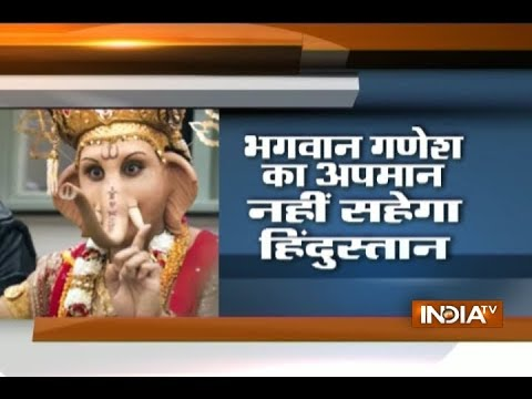 Debate: Hindu gods and godesess insulted for business promotion