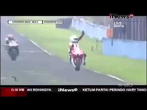 Fatal Accidents M Fadli when celebrations in Sentul international Circuit Indonesia - SPORTS