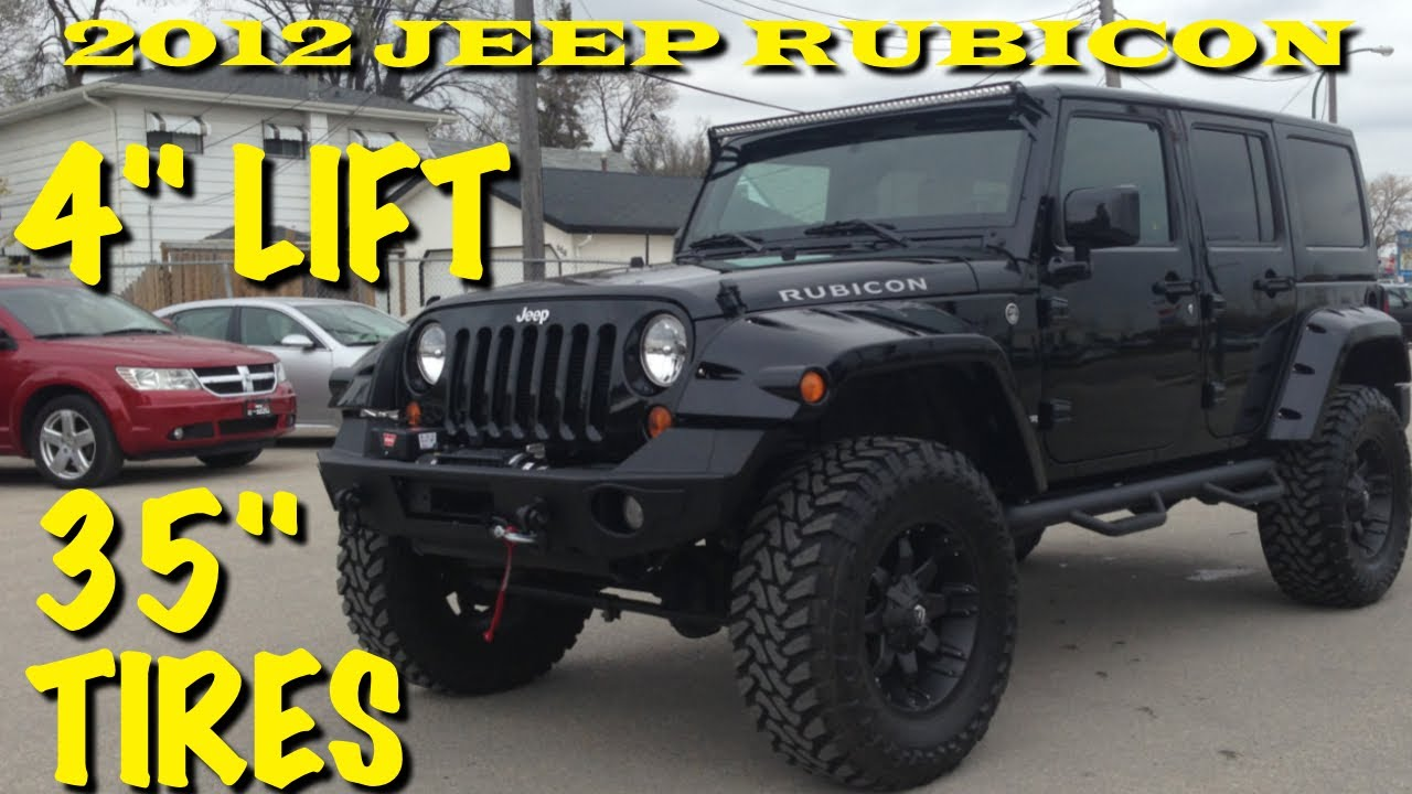 Jeep Wrangler For Sale Ontario >> Lifted 2012 Jeep Wrangler Rubicon Winnipeg Mb Custom Leather Nav Lift
