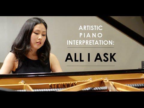 Adele - All I Ask (Artistic Piano Interpretation by Sunny Choi)