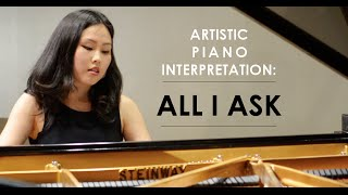 Adele - All I Ask (Artistic Piano Interpretation by Sunny Choi)