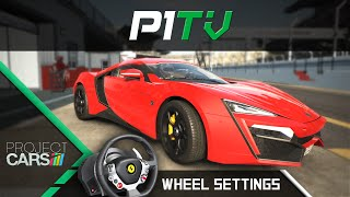 Project CARS - Lenkrad & FFB Settings feat. Lykan HyperSport [Thrustmaster TX] [PC]