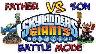 Skylanders Giants: Battle Mode - Part 6
