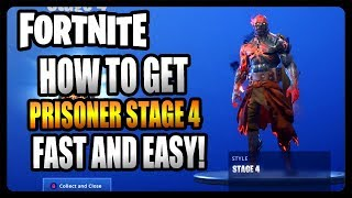 How To Unlock Stage 4 of The Prisoner! LOCATION GUIDE (Fortnite Season 7)