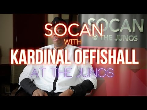 Kardinal Offishall - With SOCAN at the JUNOs