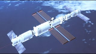 China's Shenzhou-12 manned spaceship docks with space station module