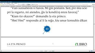 Esperanto with the  Little prince/ Chapter 10
