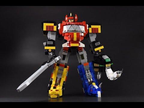 玩樂高地 171117 ep80 p1 of 2 Lego MOC Power Rangers / 恐龍戰隊 / JC Concept