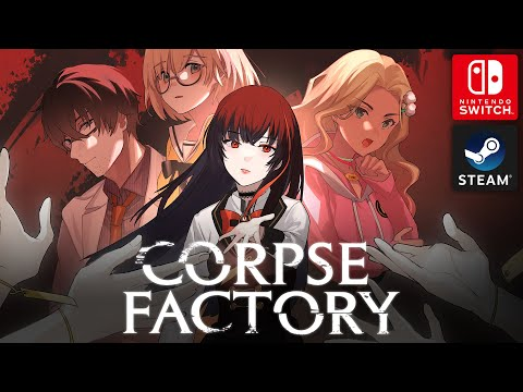 CORPSE FACTORY - Nintendo Switch & Steam Announcement Trailer | Psychological Thriller Visual Novel