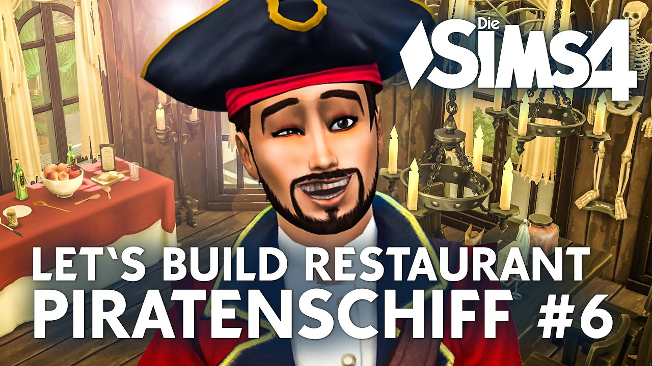 Die sims 4 gaumenfreuden release showcase restaurant gameplay pack - Die Sims 4 Let S Build Piratenschiff 6 Restaurant Bauen In Gaumenfreuden