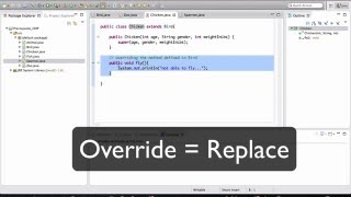 Java - OOP Basics - 4/5 (interfaces)