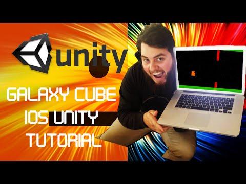 IOS Game, Unity Breakdown/Tutorial - Galaxy Cube