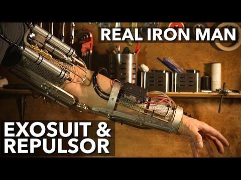 First Real Iron Man repulsor DIY