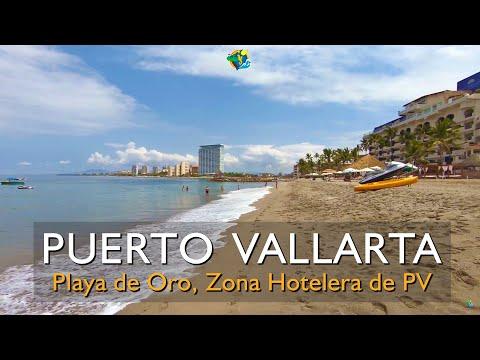 ¿Cómo es Playa de Oro en la zona hotelera de Puerto Vallarta?