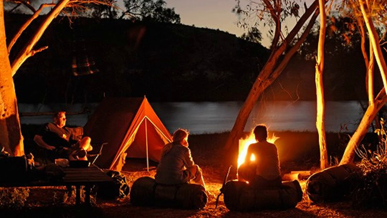 sonhar com acampamento