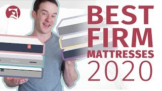 Best Firm Mattress 2020 - Our Top 6 Beds!
